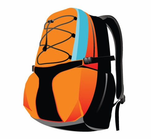 Sport Backpack Vector