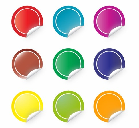 Free Sticker Vector