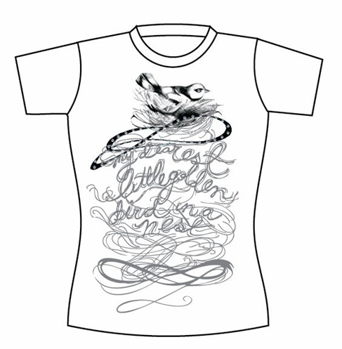 Free Vector T-shirt Template 05