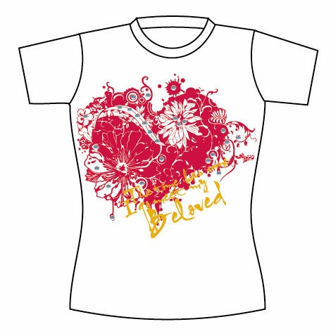 Free Vector T-shirt Template 09