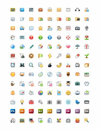 Free Icon Set - CROOP