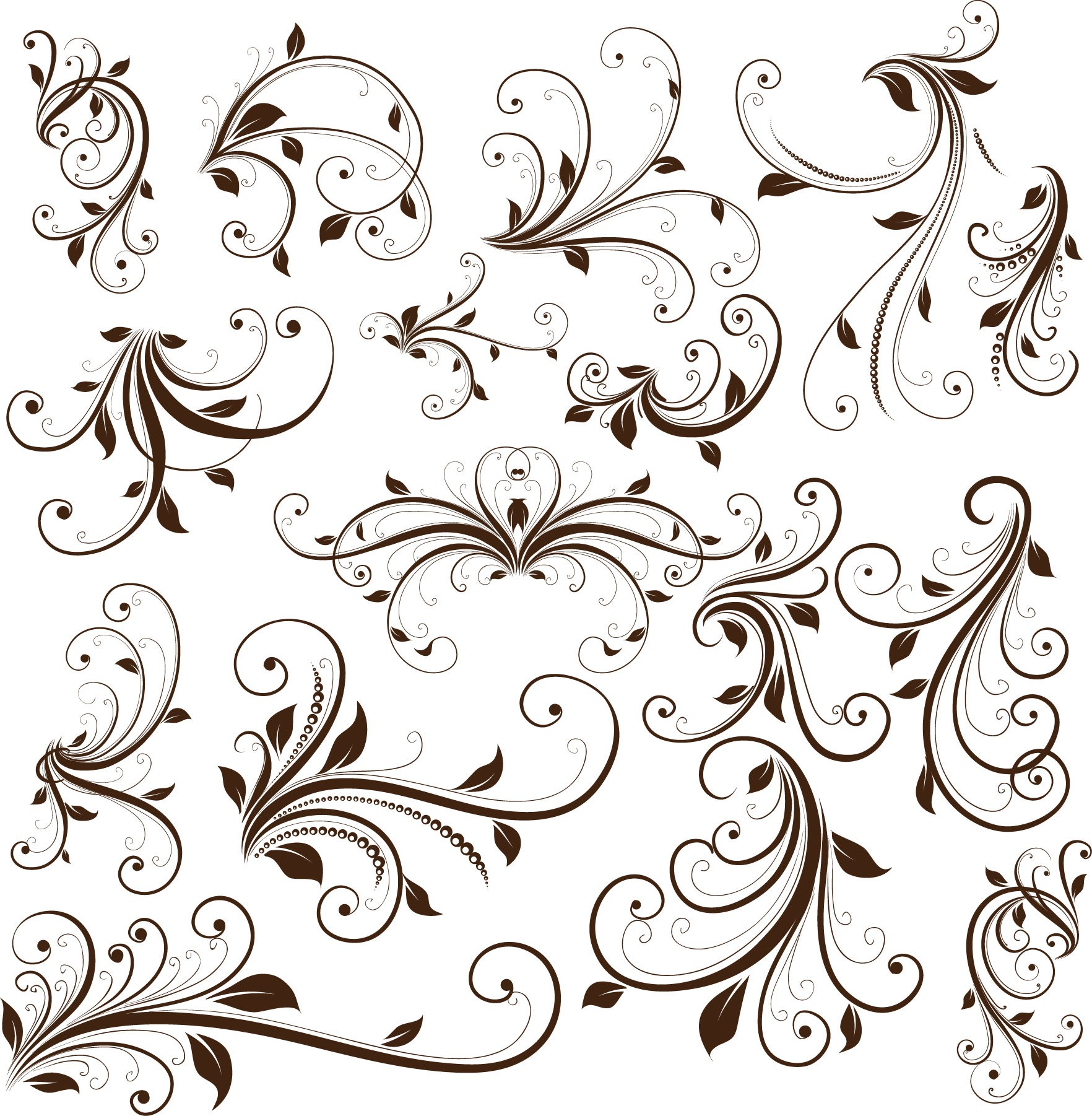 Free Vector Graphics Swirls