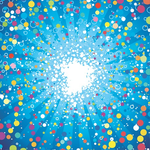 Abstract-Fancy-Dots-Background-Vector