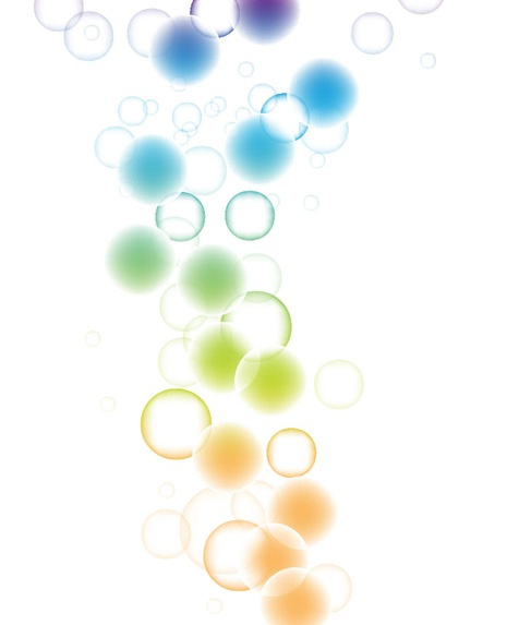 Beautiful Bokeh Abstract Vector Background