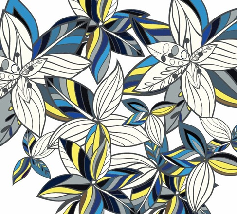 Free Floral Background Vector Graphic