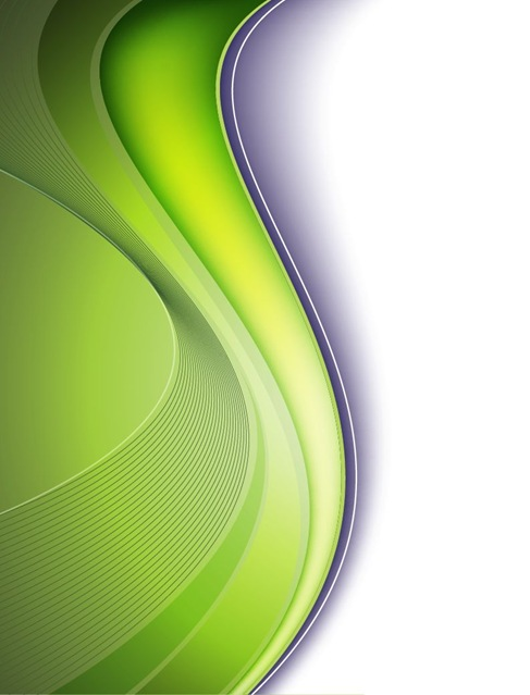 Free Vector Background in Green