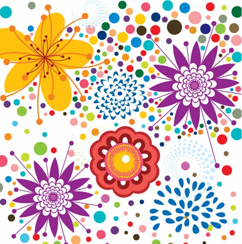 Free-Vector-Floral-Pattern-Background