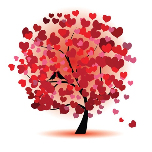 Abstract-Love-Tree-Vector-Graphic