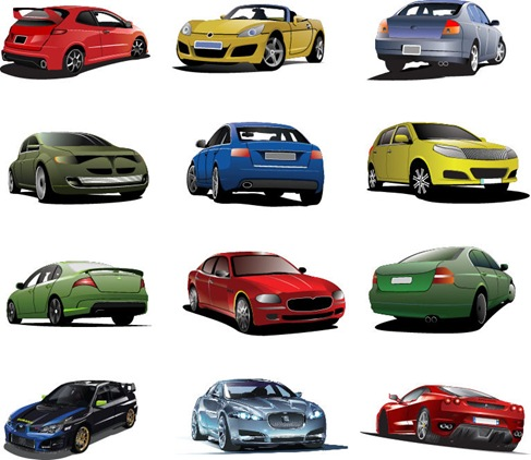 Free-Cars-Vector-Set