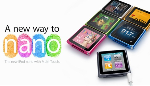 Apple iPod Nano 6G PSD Preview