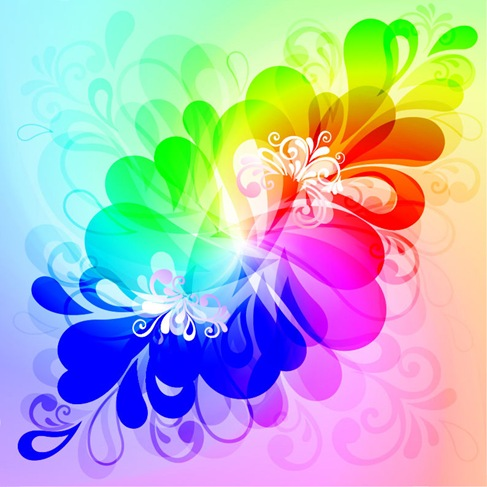 Colorful-Floral-Background-Vector-Graphic