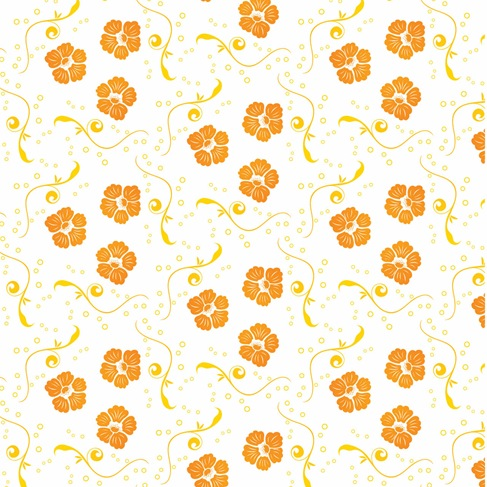 Free Vector Ornamental Floral Pattern