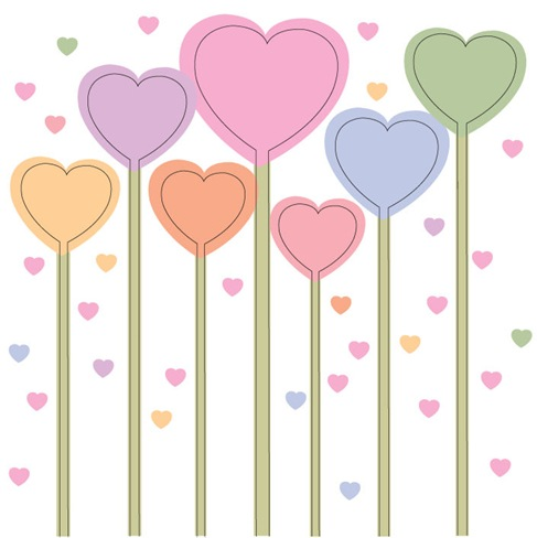 Simple Love Vector Illustration
