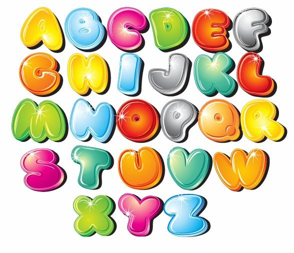 free printable abc clipart cartoon font