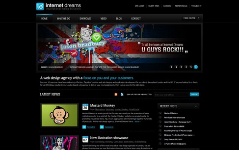 Creative Website Designs for Your Inspiration - netdreams