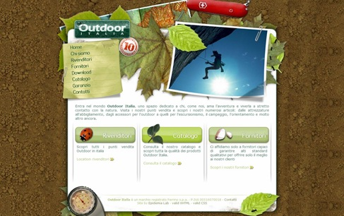 Creative Website Designs for Your Inspiration - outdooritalia