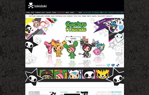 Creative Website Designs for Your Inspiration - tokidoki