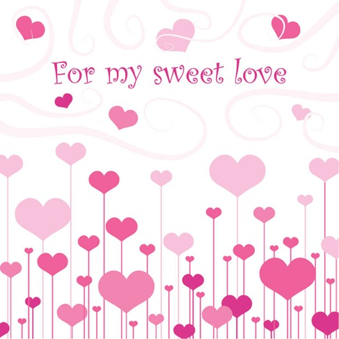 Sweet Love Vector Art