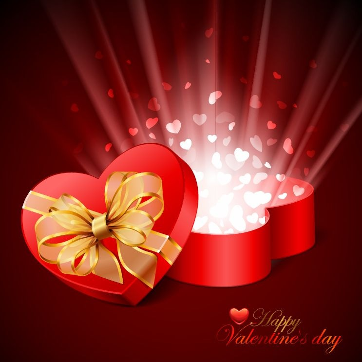 Valentines Day Card Vector Illustration | Free Vector Graphics | All ...