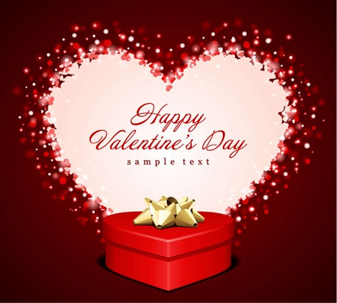 Heart Gift Valentine Card