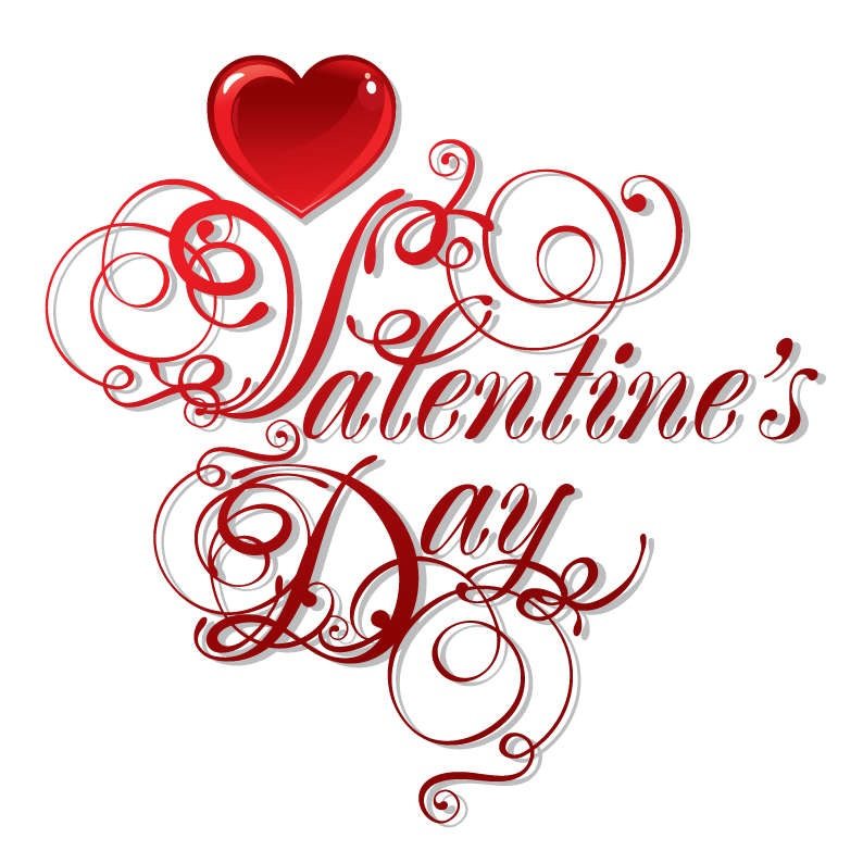 Name valentine s day vector art
