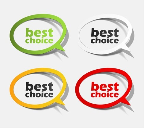 Best Choice Sticker Collection
