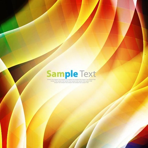 Colorful Abstract Design Vector Art