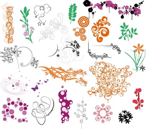 Ornaments Vector Collection