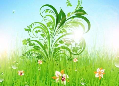 Floral Flower Vector Illustration