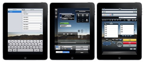 iPad UI Vector Elements