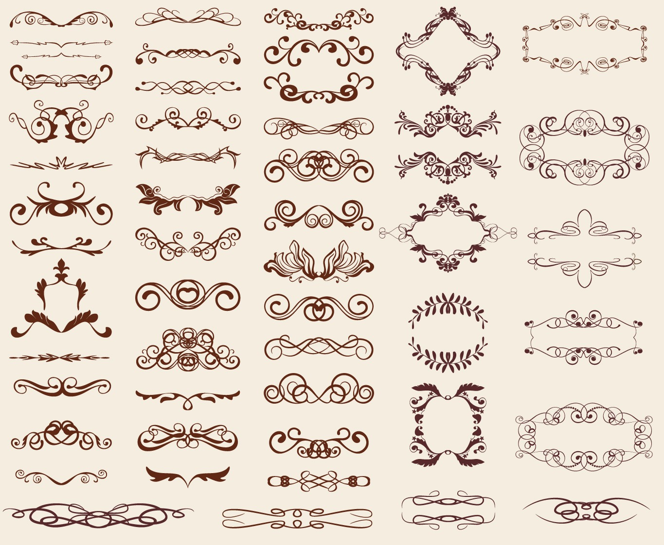 images of retro design elements free vector graphics all web resources wallpaper wallpaper