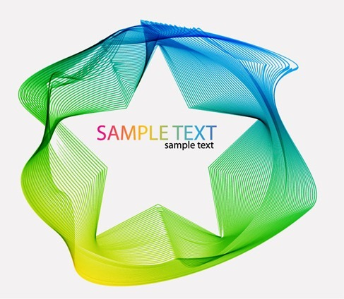 Abstract Colorful Background Artwork Vector