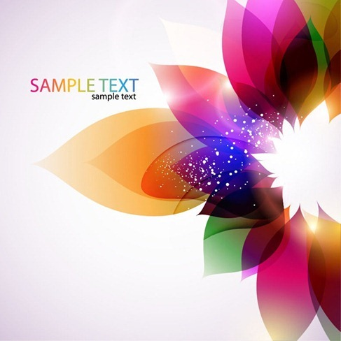 Abstract-Colorful-Floral-Vector-Background