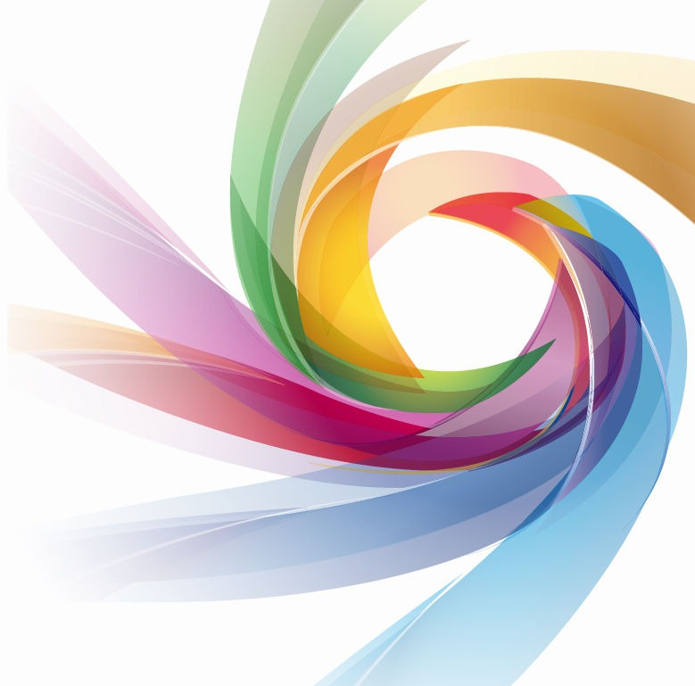Colorful Abstract Design Vector Graphic  Free Vector Graphics  All