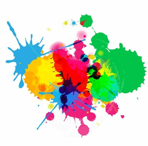 Colorful-Bright-Ink-Splashes-on-White-Background