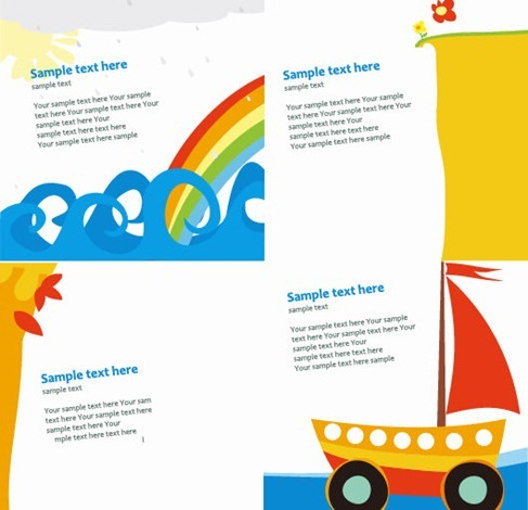 Cute Card Templates