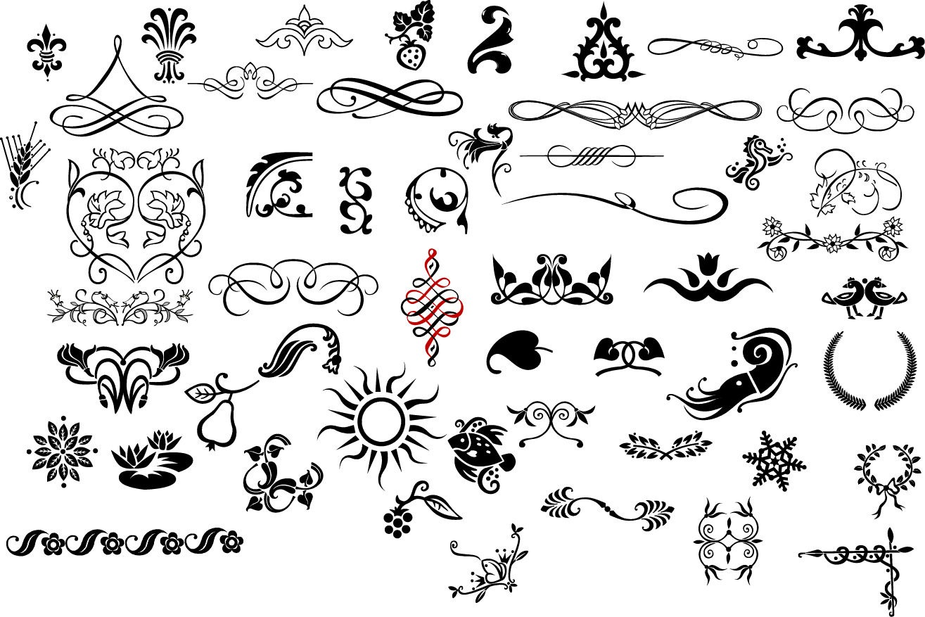 Name: Free Ornaments and Flourishes