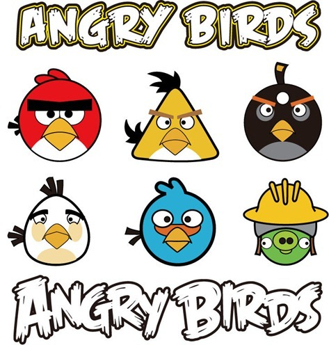Angry Birds Vector Graphic