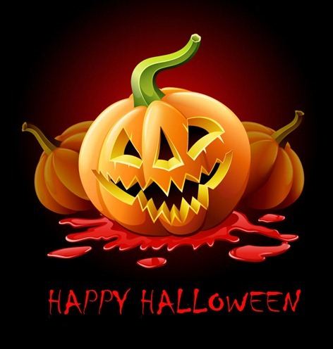 Happy Halloween Vector Graphic