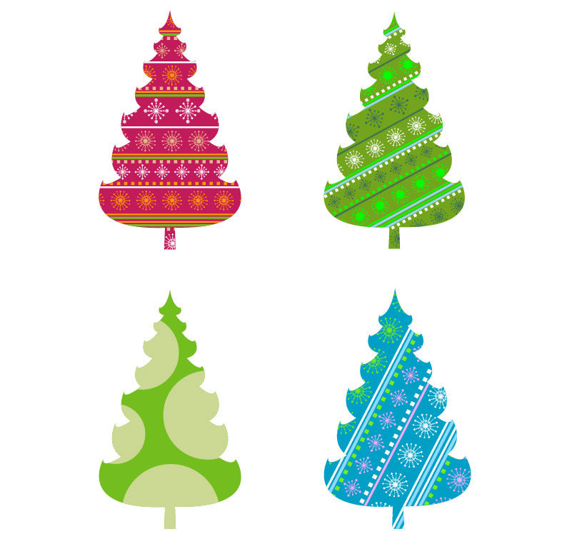 abstract christmas tree vector graphics free vector graphics all rh webdesignhot com free christmas vector art borders free christmas vector clipart