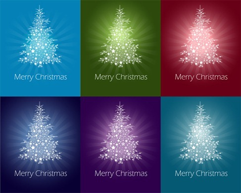 Colorful-Abstract-Christmas-Tree-Vector-Graphics