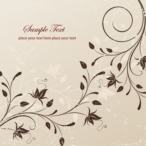 Free Floral Vector Illustration