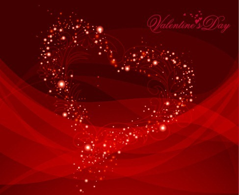 Vector Valentine Background