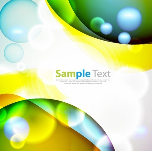 Abstract Colored Vector Graphic