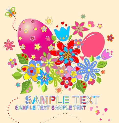 Easter Vector Illustration