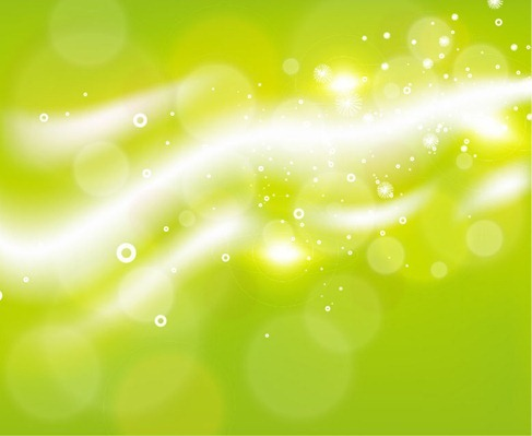 Green Abstract Background Vector Grphic