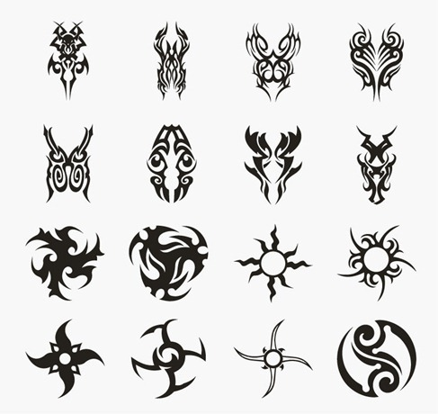 Tattoo Vector Set 4