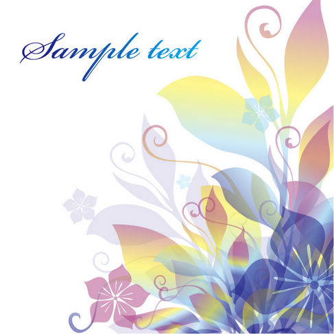Dream Flowers Vector Illustration