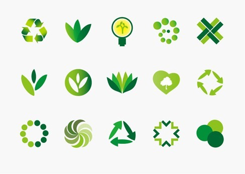 Environment Icons for Bio and Eco