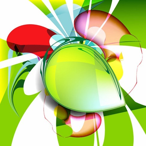 Abstract Design Vector Background Illustration